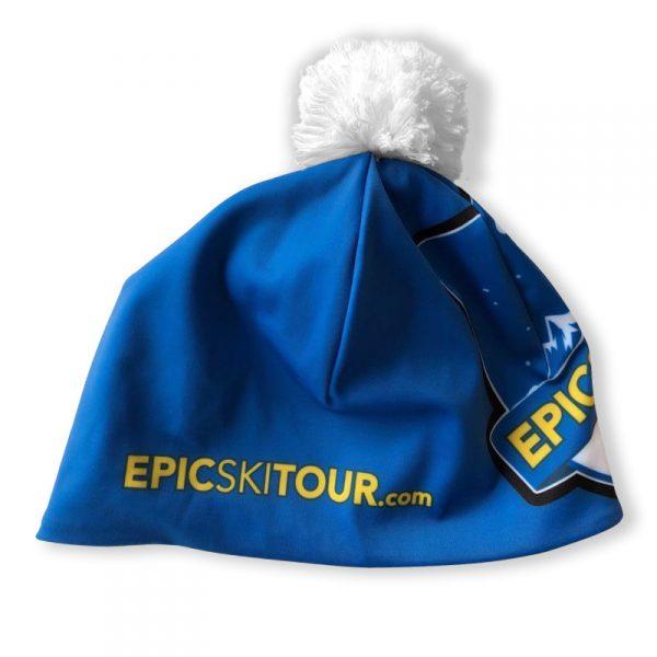 Cap with pompom by NORDICSKY back