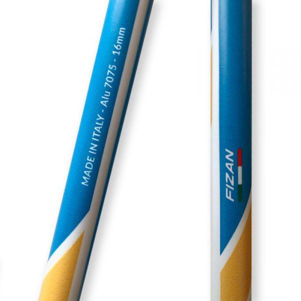 Skistöcke für Tourenski von FIZAN mit EPIC Ski Tour Personalisierung 03