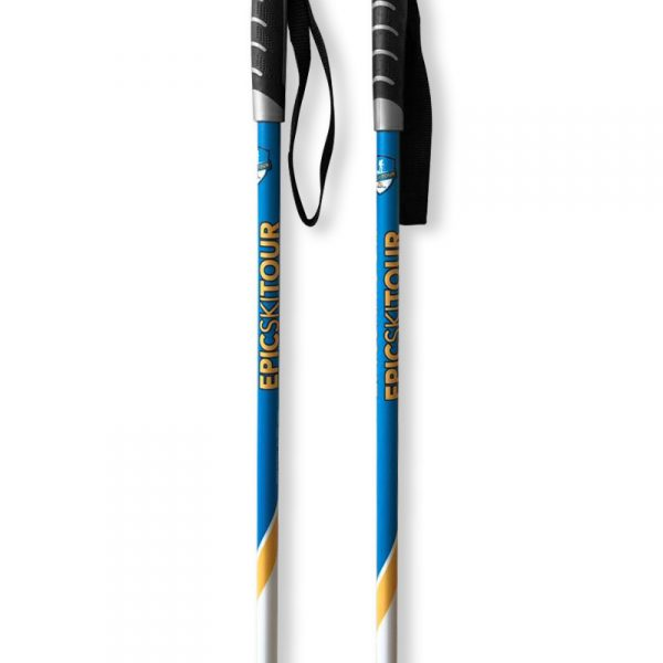 Skistöcke für Tourenski von FIZAN mit EPIC Ski Tour Personalisierung 04