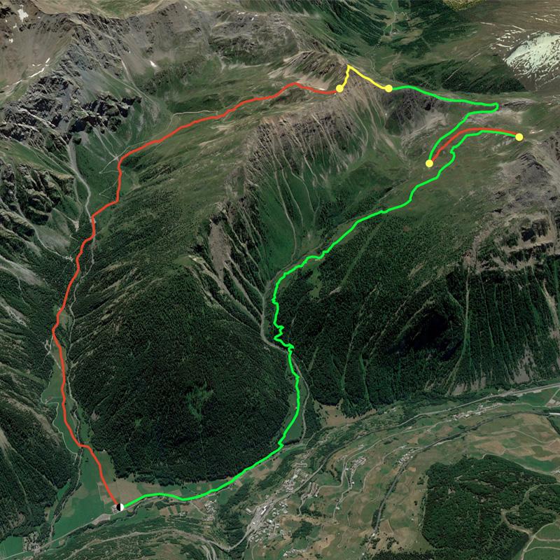 Simulazione percorso Trofeo Memorial Fiou Aosta